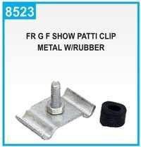 FR G F Show Patti Clip Metal W/Rubber