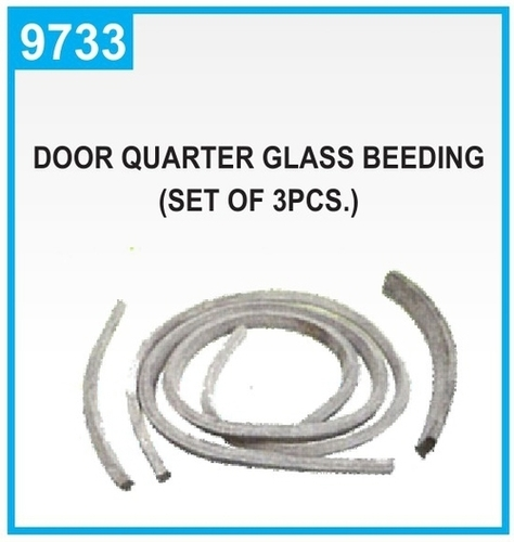 Door Quarter Glass Beeding [Set of 3PCS]