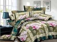 Multicolor Printed New Design Bed Sheet