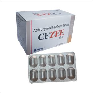 Azithromycin & Cifixime tablets