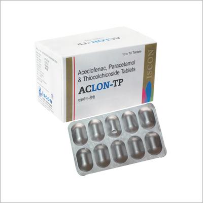 Aceclofenac Paracetamol &Thiocolchicoside Tablet