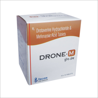 Drotaverine & Mefenamic Acid I.P.Tablet