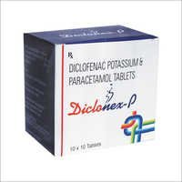 Diclofenac Potassium & Paracetamol Tablets