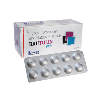 Trypsin Bromelain & Rutoside Tablets
