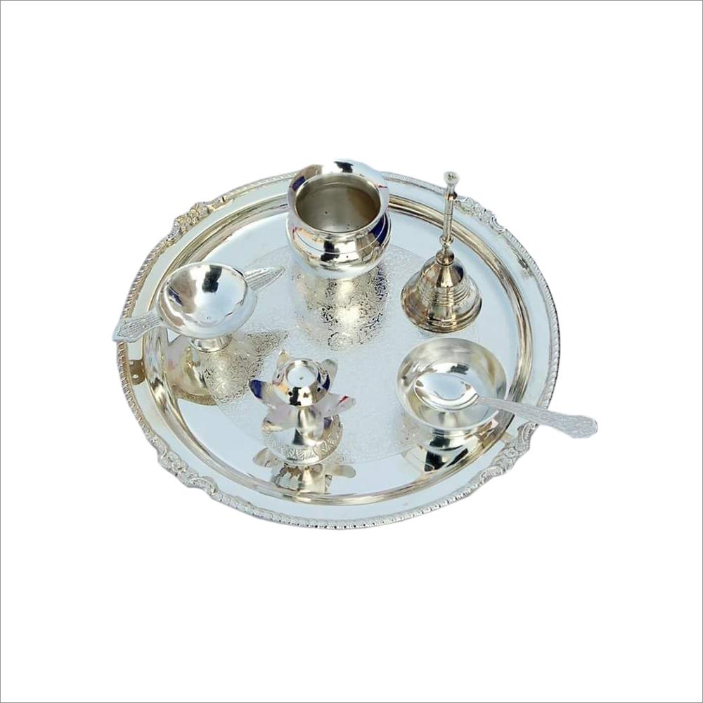 Pure Brass Puja Thali Set