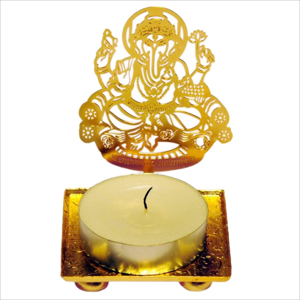 Ganesh ji Tealight Candle