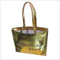 Non Woven Golden Bags