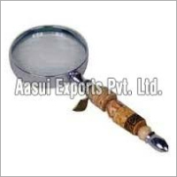 Horn and Bone Handle Magnifier Glasses