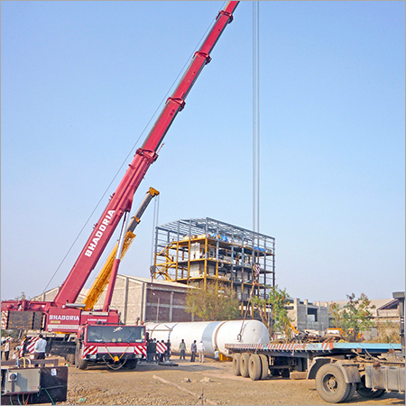 Heavy Duty Cranes On Hire