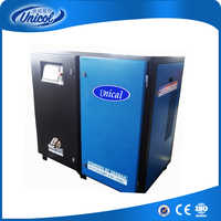 Double Stage Screw Air Compressor energy saving