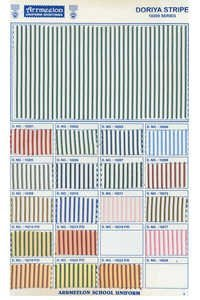 Doriya Stripe Uniform Fabric