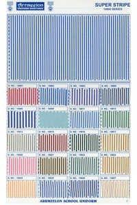 Super Stripe Uniform Fabric