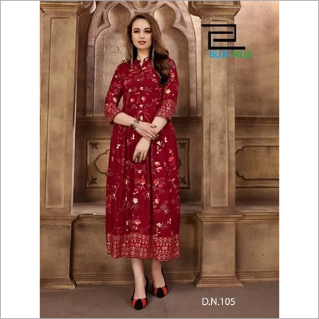 Blue Hills Walk-Way Kurti