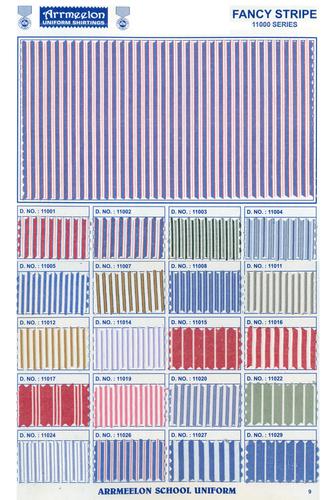 Fancy Stripe Uniform Fabric