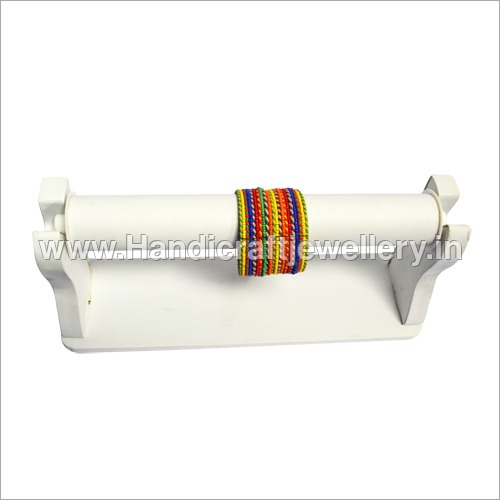 Colourful Thread Wrapped Bangles