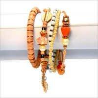 Bead Work Wrap Bracelet