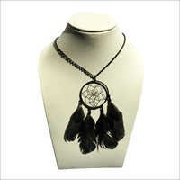 Ladies Feather Necklace