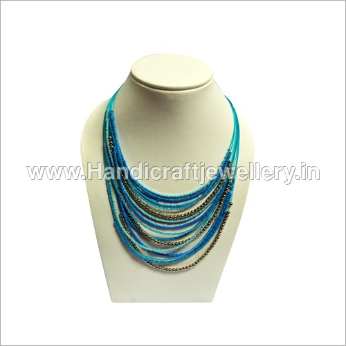 Ombre Seed Bead Necklace