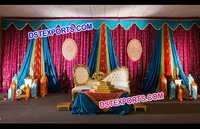 Colourful Wedding Mandap Backdrops
