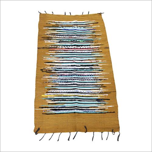 Cotton Border Dari/ Chindi Rugs