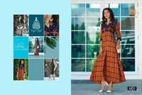 ladies flavour Presents rayon digital prints kurtis