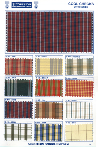 Cool Checks Fabric