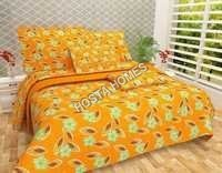 Floral Cotton Bed Sheet