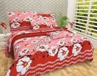 Floral Printed Cotton Bed Sheet New Design