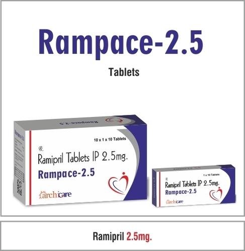 Ramipril 2.5 mg.