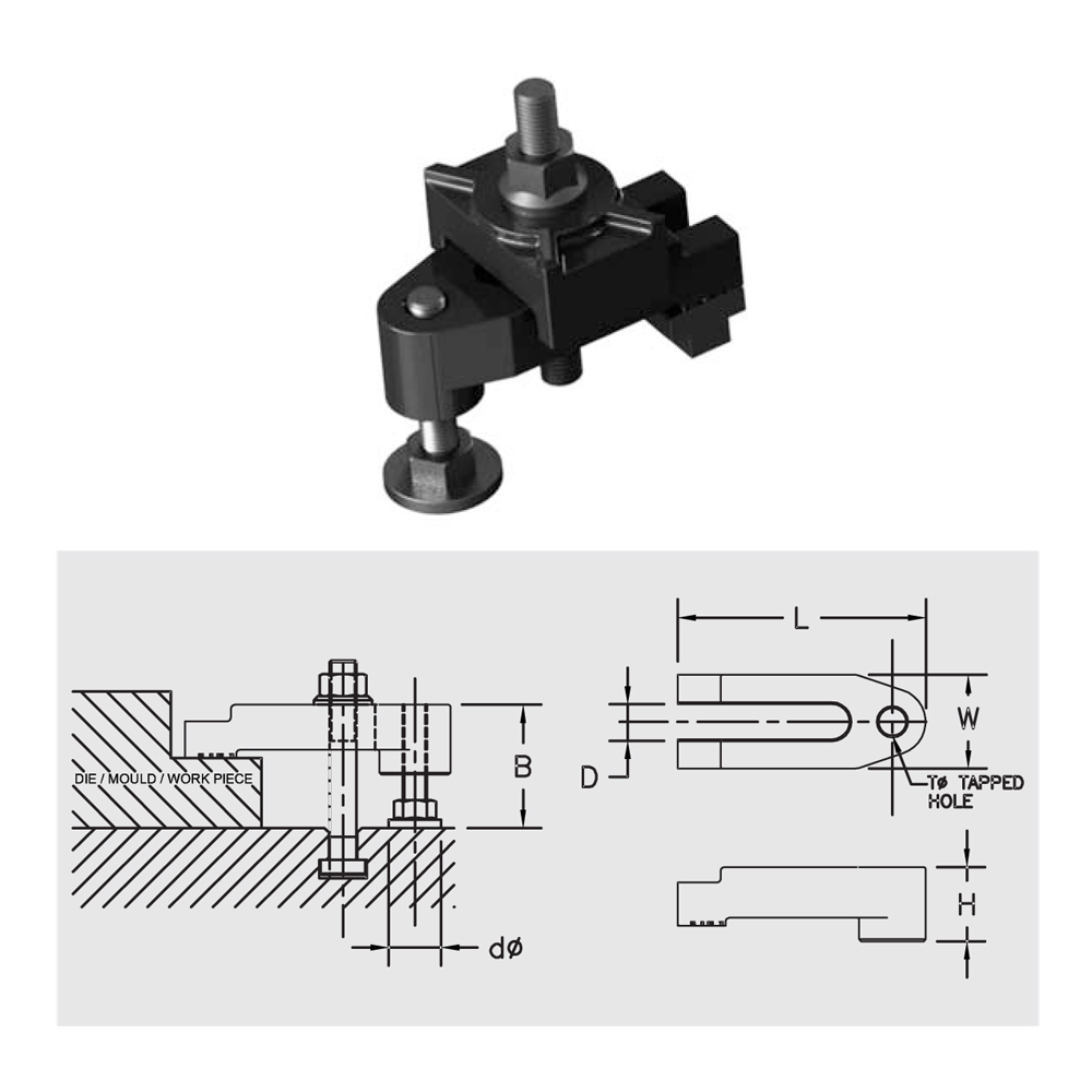U-Type Special Mould Clamp