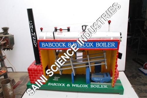 Babcock & Wilcox Boiler model