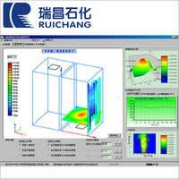 Hearth Three-imensional Temperature Field Detecting System