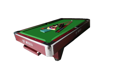21 BALLS ROSE POOL TABLE