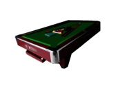 4X8 Rose Pool Table