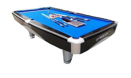 21 Balls Mercury Pool Table