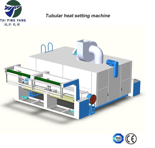 Heat Setting Machine For Tubular Knitting Fabrics