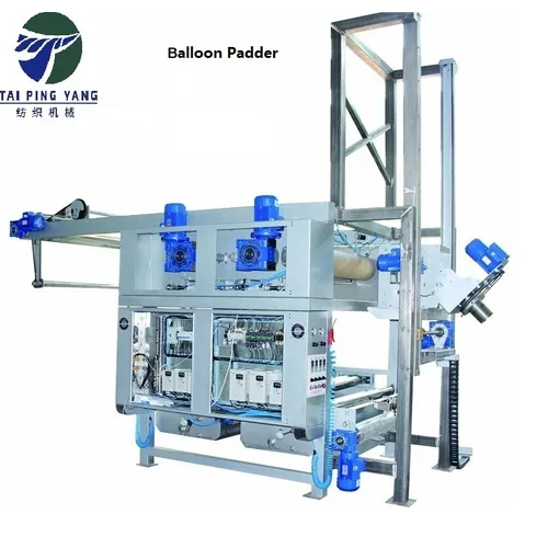 Double Padder With Detwister For Tubular Cotton Fabrics