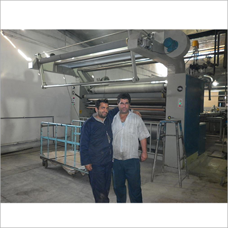 Open width compacting machine for knit fabrics cotton fabrics