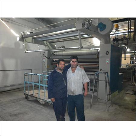 Open width compacting machine for knit fabrics cotton fabrics
