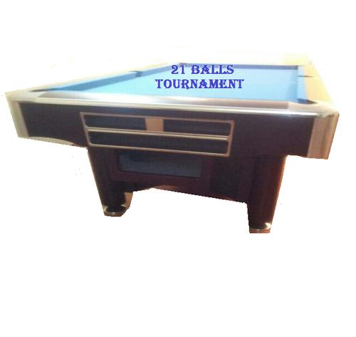 TOURNAMENT POOL TABLE
