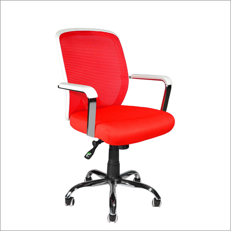 Office Red Mesh Chair