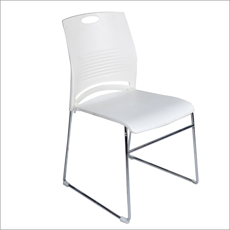 Leisure White Visitor Chair