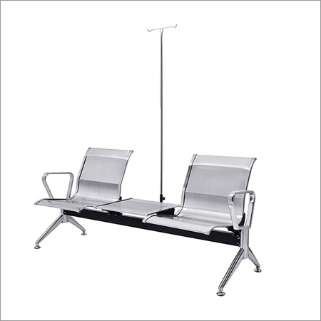 Steel Two Seater Transfusion Chair
