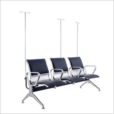 Steel Three Seater Transfusion Chair