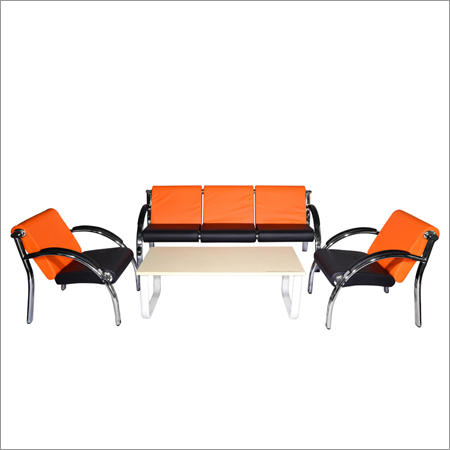 Orange Leisure Sofa Set