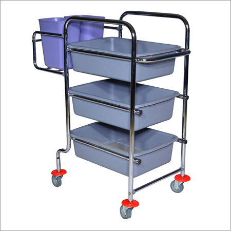 Hotel Cleaning Cart Trolley