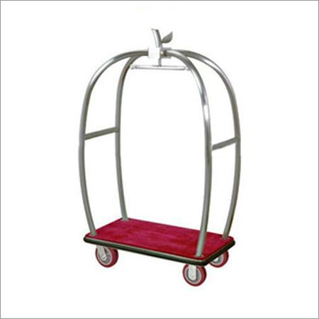 Lightweight Hotel Luggage Cart