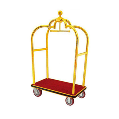 Metal Hotel Luggage Cart