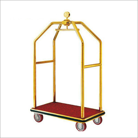 Hotel Birdcage Luggage Cart Trolley