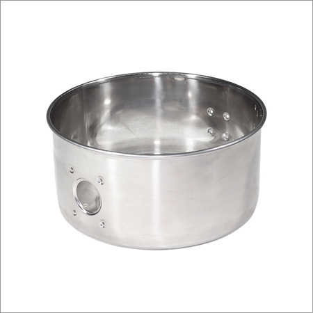Stainless Steel Vacuum Cleaner Barrel